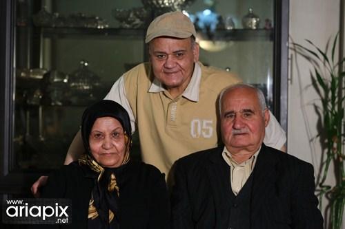 اکبر عبدی و همسرش , خانواده اکبر عبدی