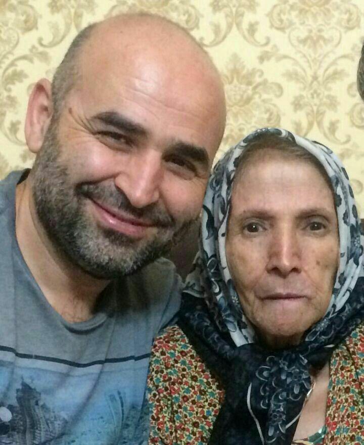 فوت مادر علی مسعودی