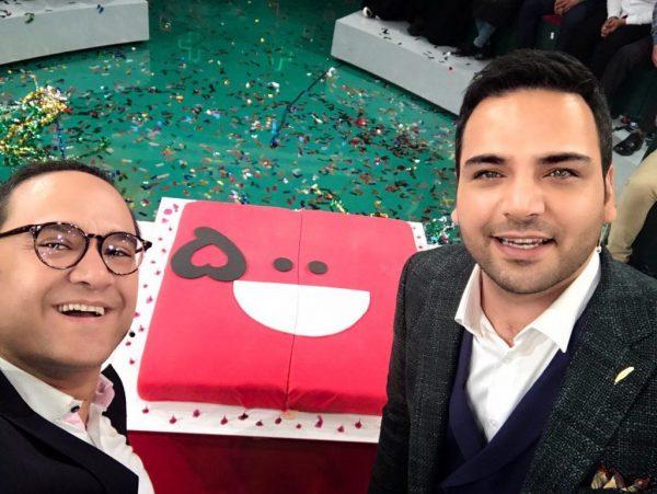 احسان علیخانی در جشن پانصدمین 500 قسمت خندوانه