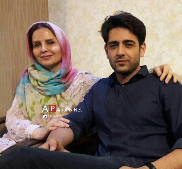 امیرحسین آرمان و مادرش
