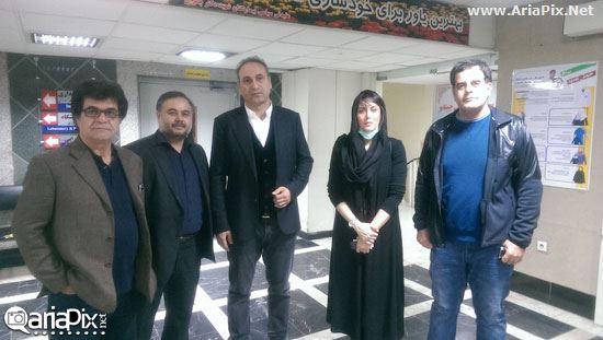 ملاقات بازیگران و هنرمندان از قربانیان اسیدپاشی اصفهان