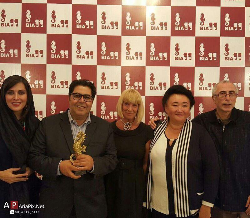 مهتاب کرامتی و فرهاد اصلانی در جشنواره فیلم باتومی گرجستان