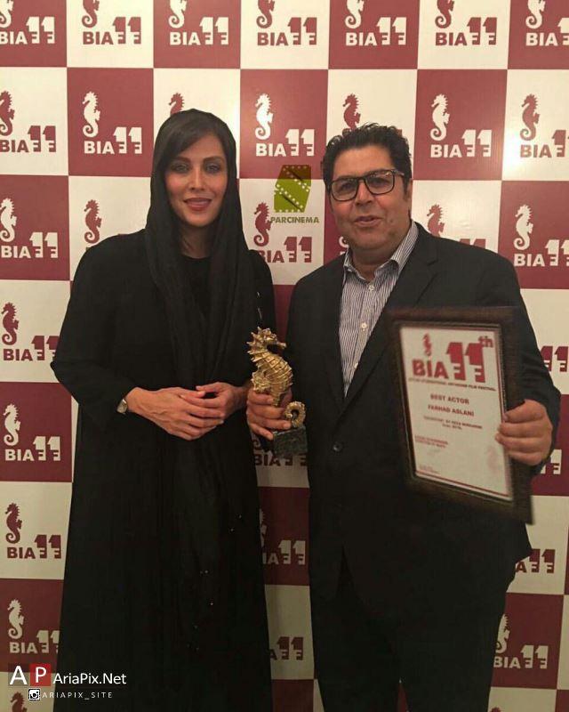 فرهاد اصلانی برنده جایزه جشنواره فیلم باتومی گرجستان