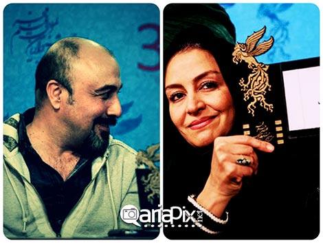 مریلا زارعی بهترین بازیگر نقش اول زن جشنواره فیلم فجر 92 و رضا عطاران بهتری بازیگر مرد