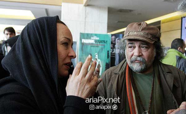 محمدرضا شریفی نیا و همسرش آزیتا حاجیان