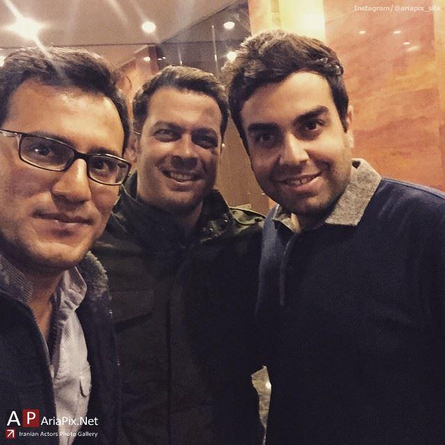 پژمان بازغی و محسن آزادی پشت صحنه خوشا شیراز