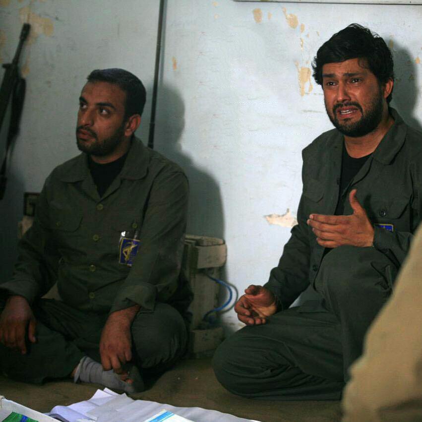 حامد بهداد در نقش شهید محمد جهان آرا در سریال کیمیا