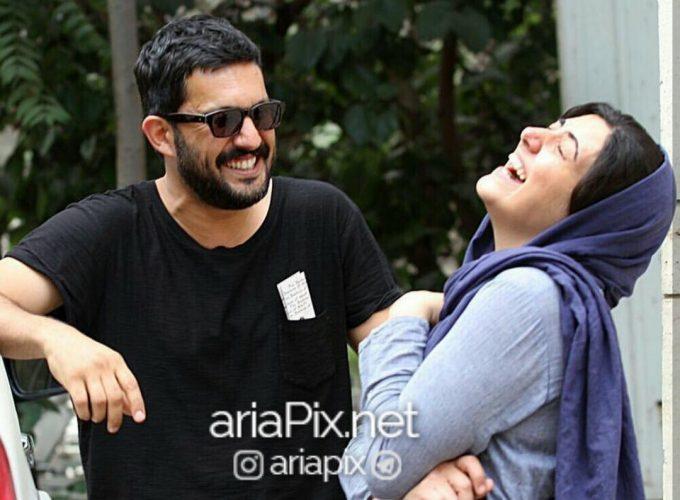 حامد بهداد و همسرش