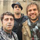 سلفی بابک حمیدیان,پوریا پورسرخ و هومن حاج عبداللهی در پشت صحنه سریال بیمار استاندارد