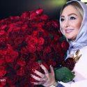 ماجرای دادن دسته گل میلیونی به الهام حمیدی توسط یکی از طرفدارانش