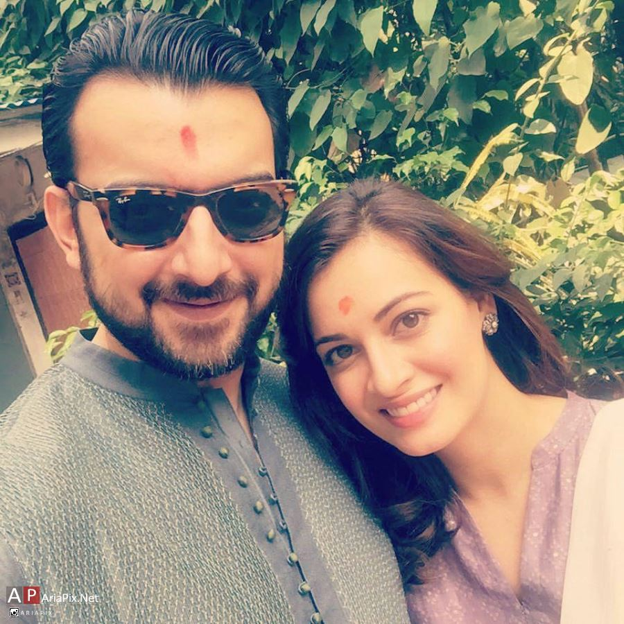 دیا میرزا و همسرش , بیوگرافی دیا میرزا
