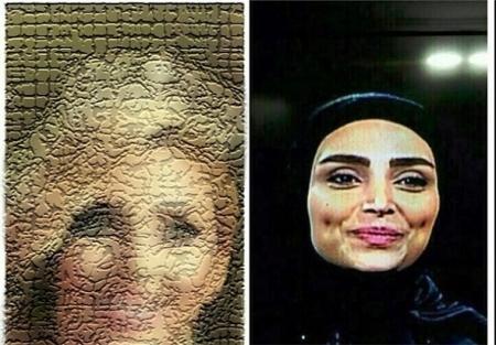 الهام عرب مدلینگ مهمانان ماه عسل