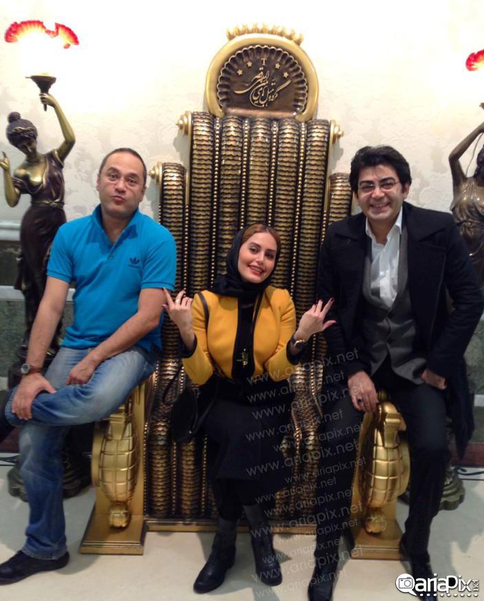 الناز شاکردوست,فرزاد حسنی و رامبد جوان در مشهد /  عکس جدید بازیگران