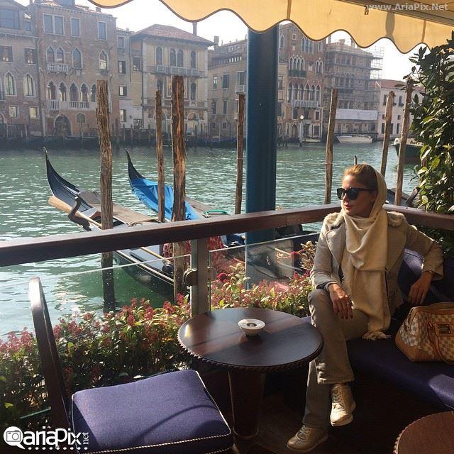 الناز شاکردوست در ایتالیا, الناز شاکردوست در ونیز, عکس اینستاگرام الناز شاکردوست در ونیز ایتالیا