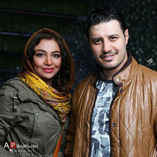 جواد عزتی و همسرش مه لقا باقری