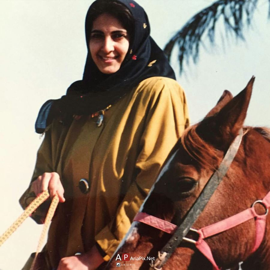 عکس از دوران جوانی فاطمه گودرزی
