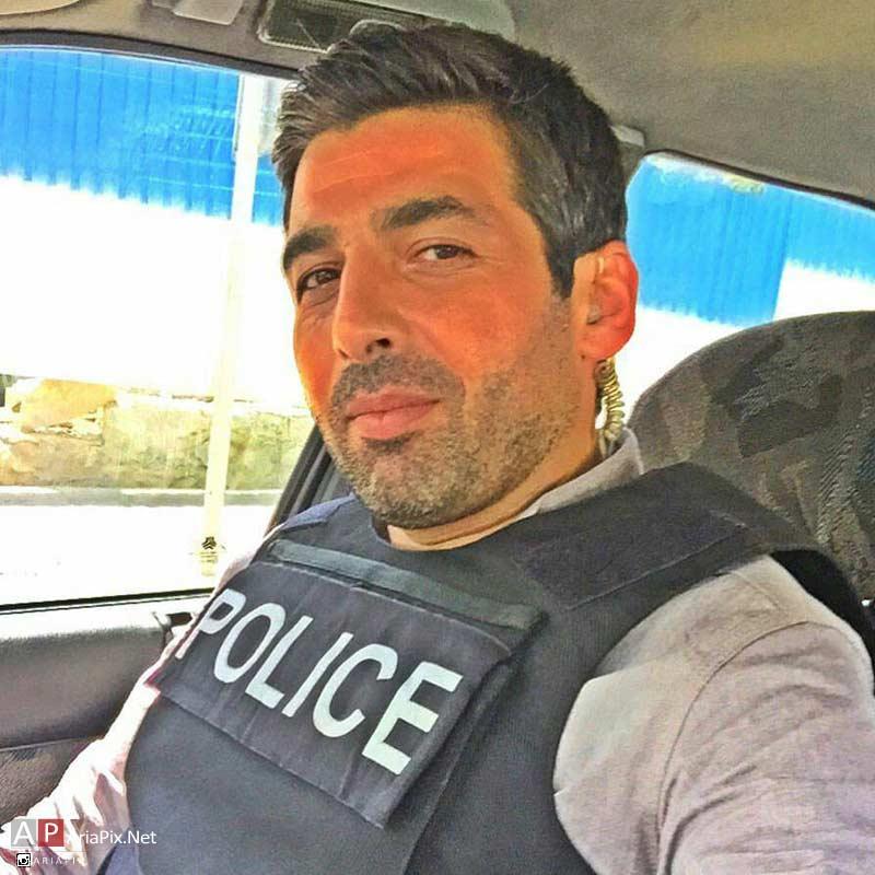حمید گودرزی بازیگر سریال گشت ویژه