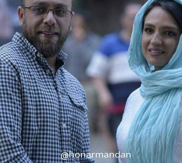 گلاره عباسی و همسرش