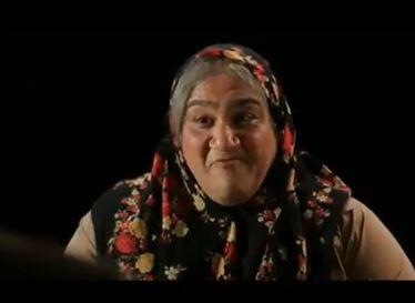 مهران غفوریان در نقش زن