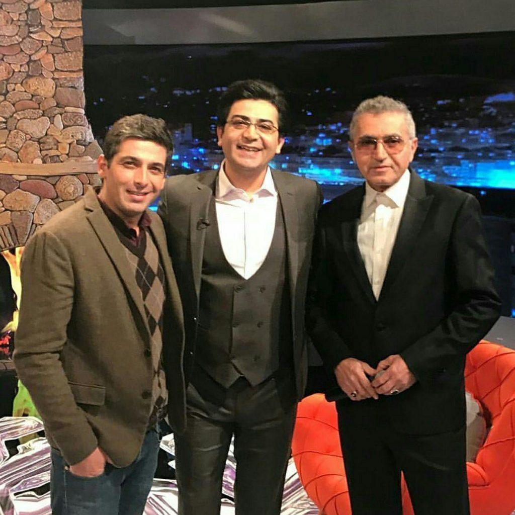 حمید گودرزی و فریدون آسرایی مهمانان برنامه فرزاد حسنی