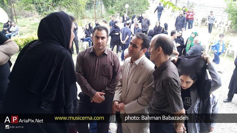 عکسهای تشییع و خاکسپاری حبیب