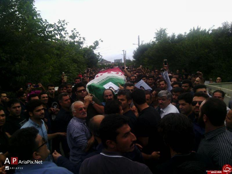 تشییع جنازه حبیب