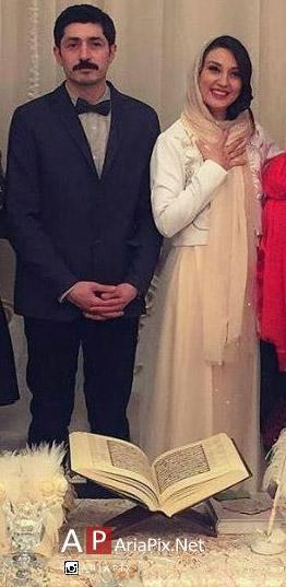 ازدواج حدیث میرامینی و مجتبی رجبی
