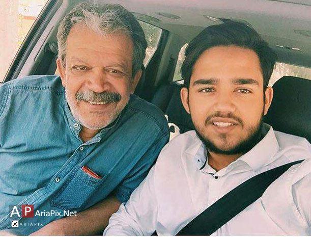 حسن پورشیرازی و پسرش آرین
