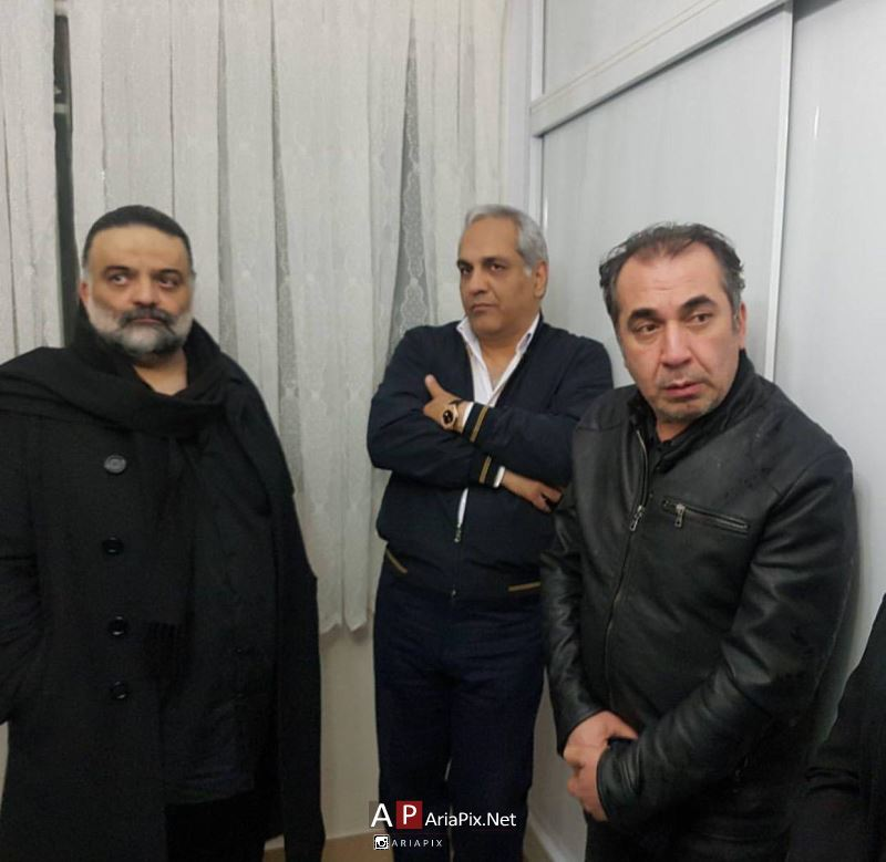 بازیگران و هنرمندان در منزل علی معلم