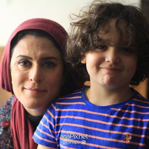 بهناز جعفری بازیگر نقش آتنه در سریال زیر پای مادر