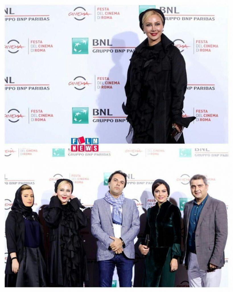 فرش قرمز فیلم جاودانگی در جشنواره فیلم رم