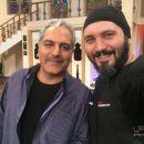 کامبیز دیرباز مهمان دورهمی مهران مدیری شد + عکس