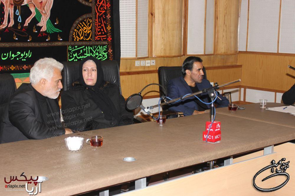 گفتگو زنده با خانواده مرحوم مرتضی پاشایی در رادیو جوان