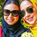 عکس های جدید آزاده صمدی و بهاره کیان افشار بازیگران زن در برنامه خوشا شیراز / دی 94