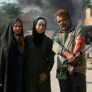 ادای احترام مهراوه شریفی نیا به شهدا و جانبازان دفاع مقدس + عکس