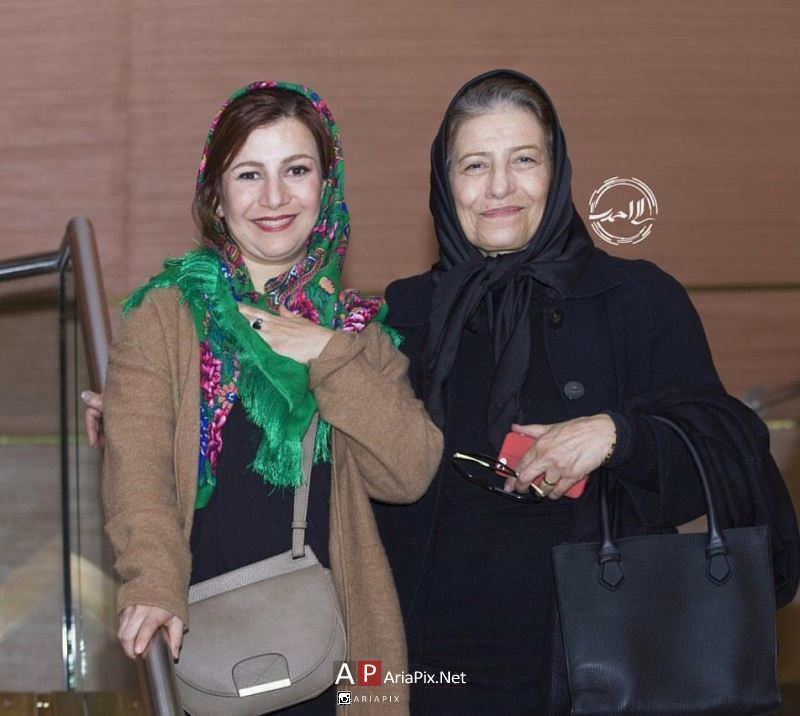 لیلی رشیدی و مادرش احترام برومند