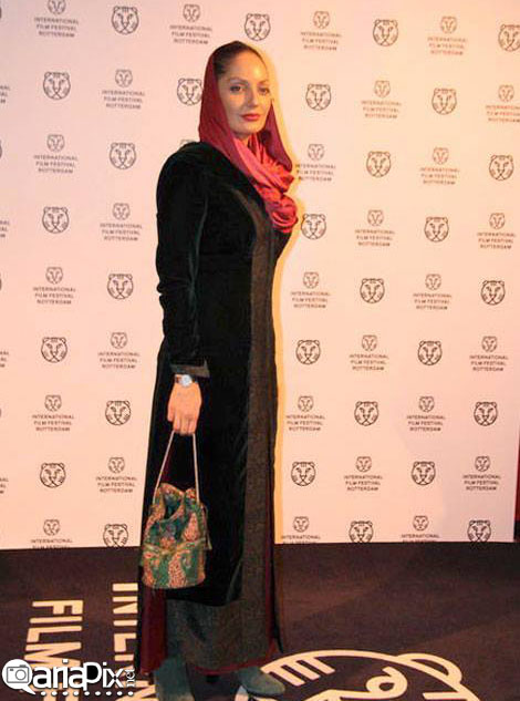 عکس مهناز افشار در فستیوال جشنواره فیلم روتردام هلند