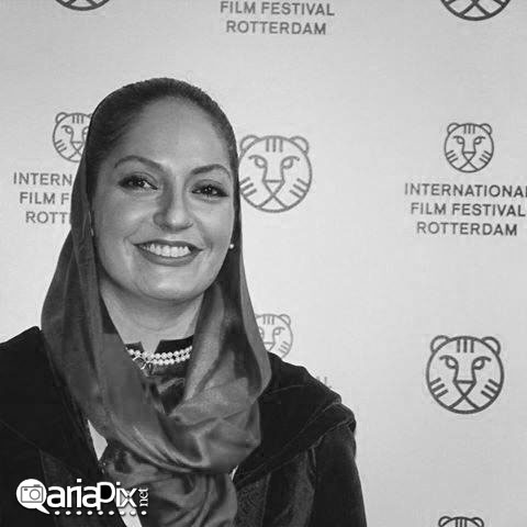 مهناز افشار در فستیوال جشنواره فیلم روتردام هلند 2014