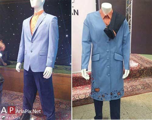 طراحی لباس ایران در المپیک 2016