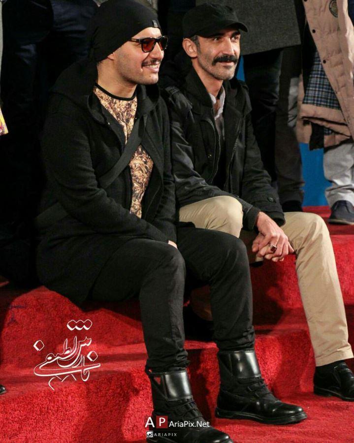 بازیگران فیلم ماجرای نیمروز در فرش قرمز فیلمشان