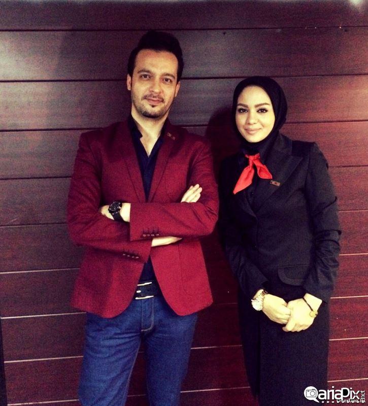 مبینا نصیری در کنار محمد سلوکی