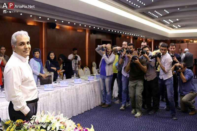 نشست مطبوعاتی فیلم سینمایی مهران مدیری