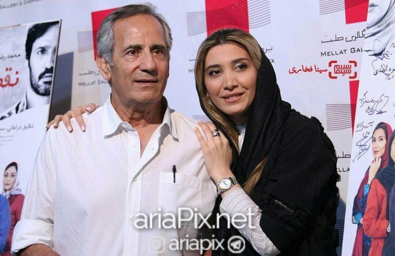 مجید مظفری و دخترش نیکی مظفری