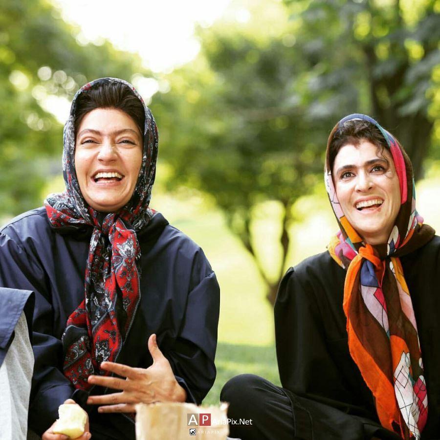 مهناز افشار و ویشکا آسایش بازیگر زن نهنگ عنبر 2