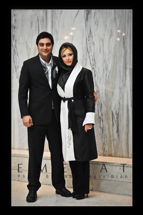 عکس نیوشا ضیغمی و همسرش آرش پولاد خان