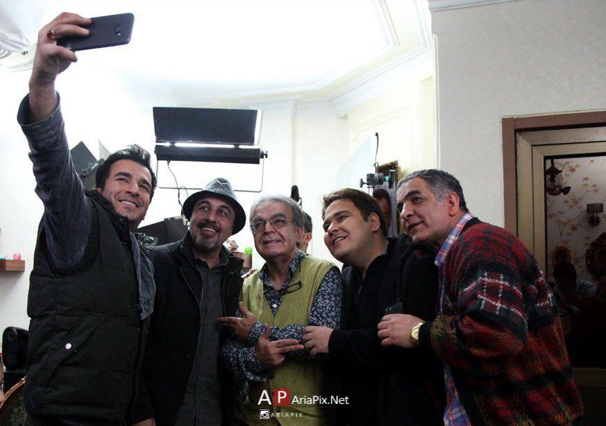 افتتاحیه سریال پنچری با حضور رضا عطاران