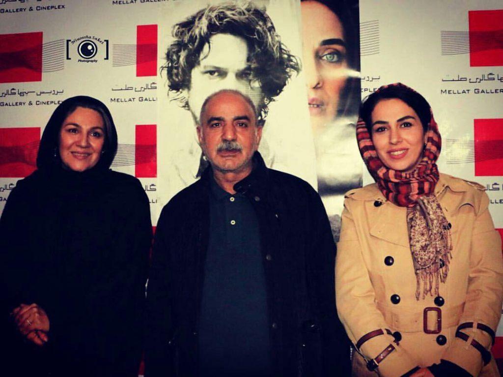 حضور پرویز پرستویی در اکران فیلم نیمه شب اتفاق افتاد +عکس