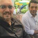 عکسهای جدید کامبیز دیرباز و مجید واشقانی در برنامه زنده رود / اردیبهشت 94