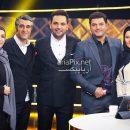 سام درخشانی و همسرش و پژمان جمشیدی و خواهرش در برنامه سه ستاره 96 +دانلود