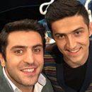 عکسهای « سردار آزمون » بازیکن تیم ملی فوتبال در برنامه بعضیا